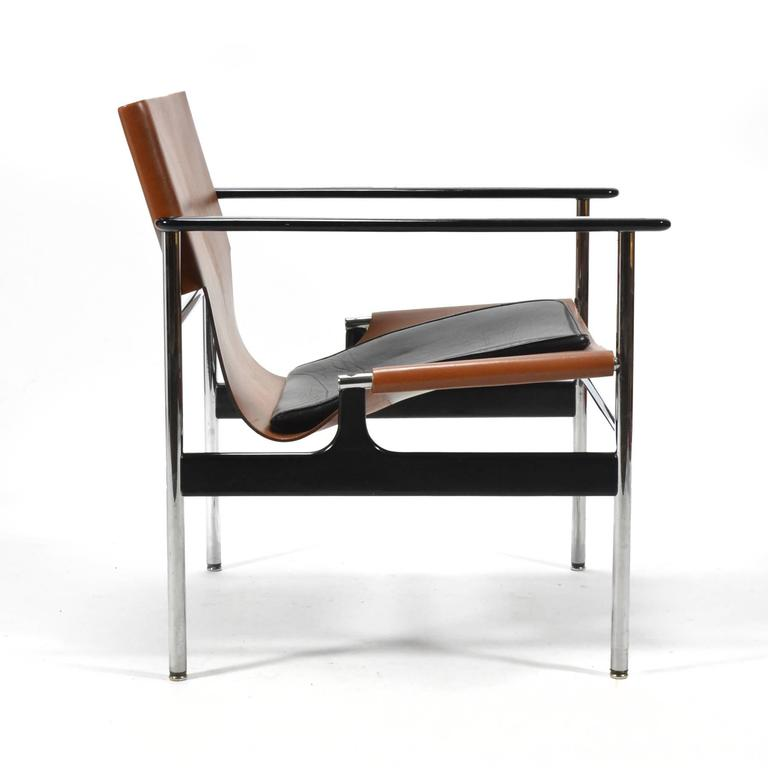Charles Pollock Model 657 Sling Lounge Chair by Knoll at