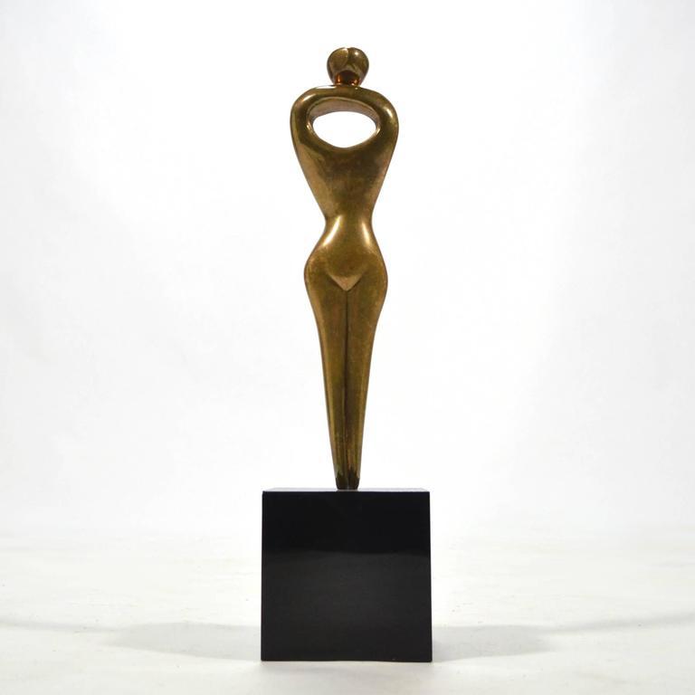 Alfredo Burlini Bronze Sculpture 8