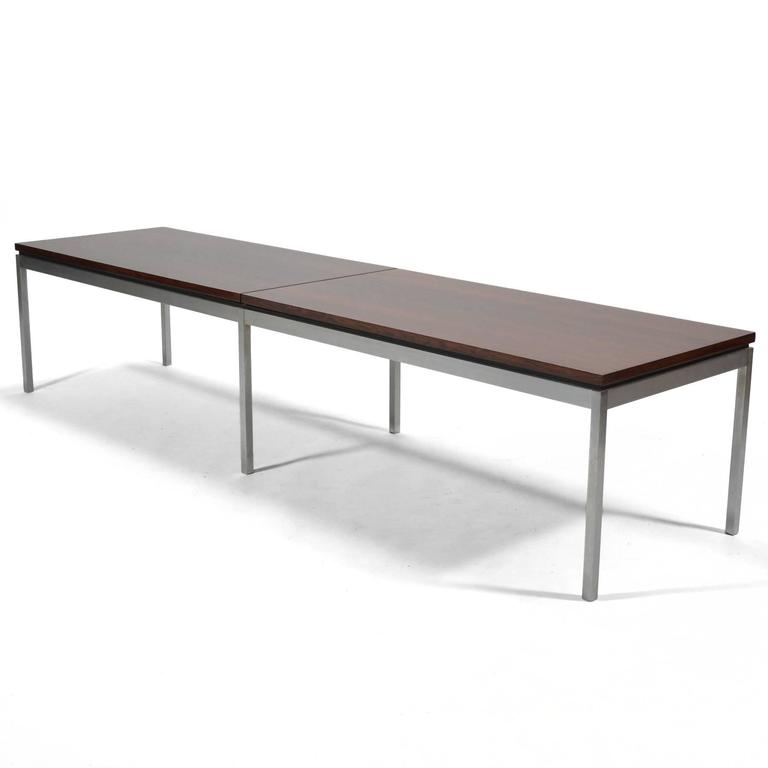 Florence Knoll Rosewood Table or Bench 2