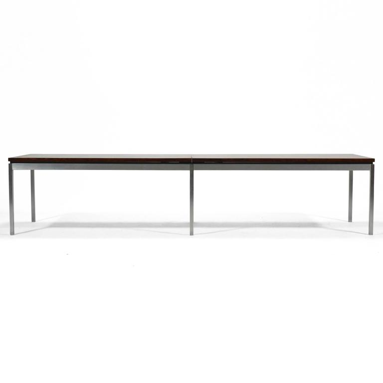 Florence Knoll Rosewood Table or Bench 3