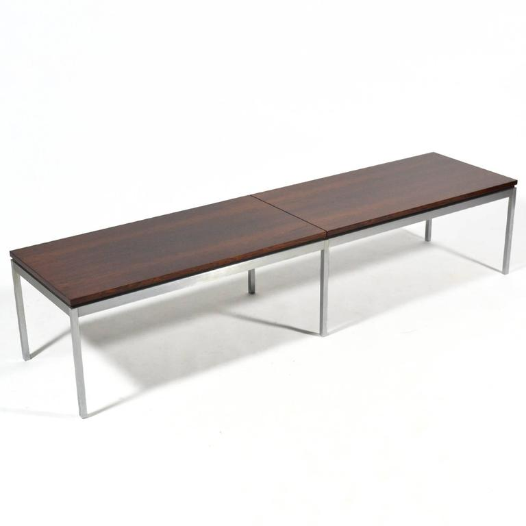 Florence Knoll Rosewood Table or Bench 4