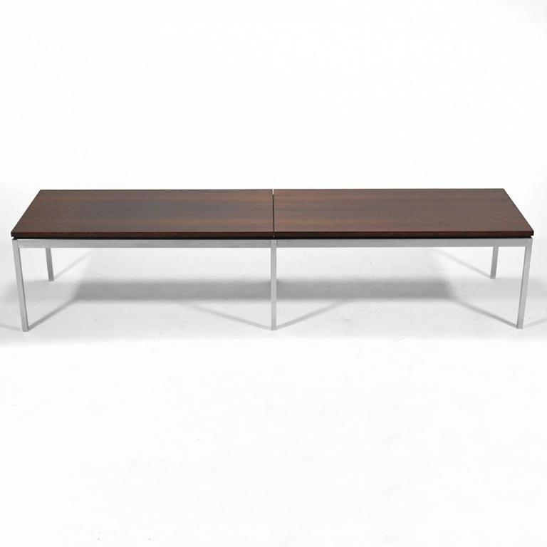 Florence Knoll Rosewood Table or Bench 8
