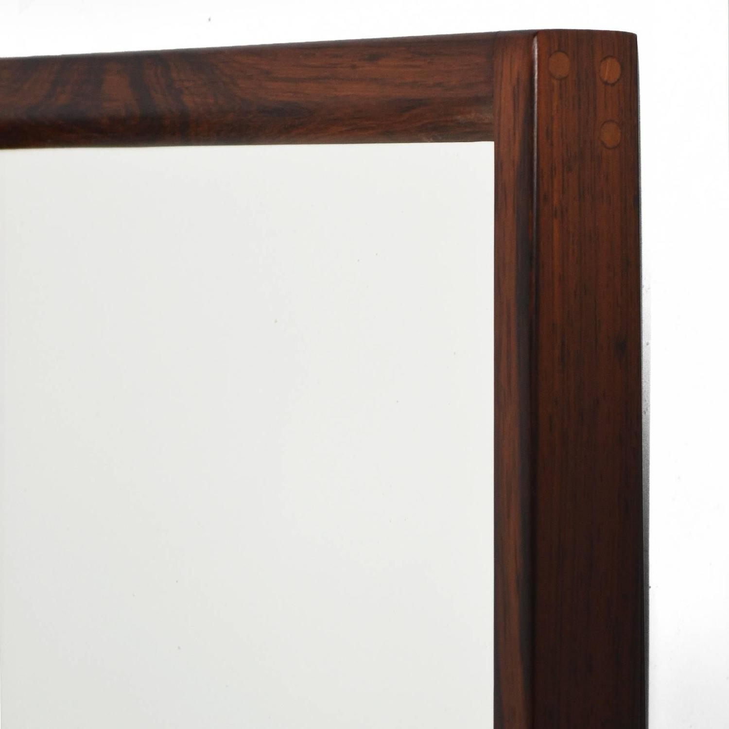 Kai Kristiansen Rosewood Bench And Mirror By Aksel Kjersgaard At 1stdibs