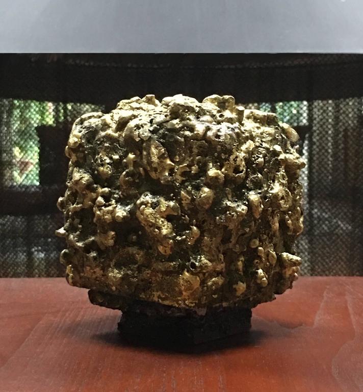 """James Bearden Steel and Bronze """"Barnacle Box"""" Sculpture/Trinket Box 10"""