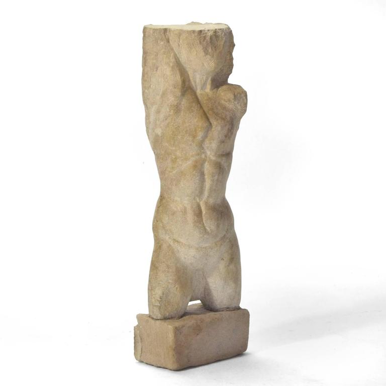 Carved Stone Torso For Sale 1