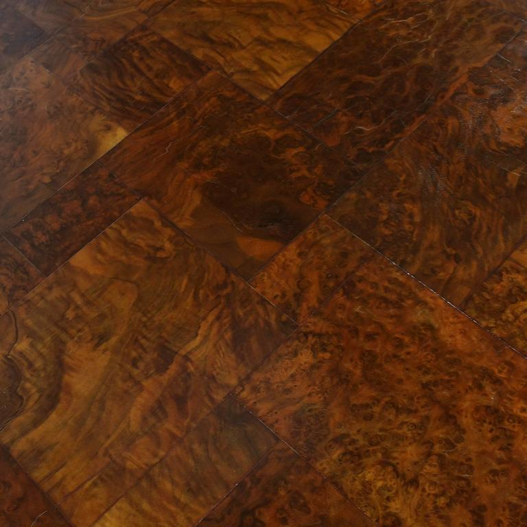 Mid-20th Century Paul Evans Parsons Table in Burl Patchwork For Sale