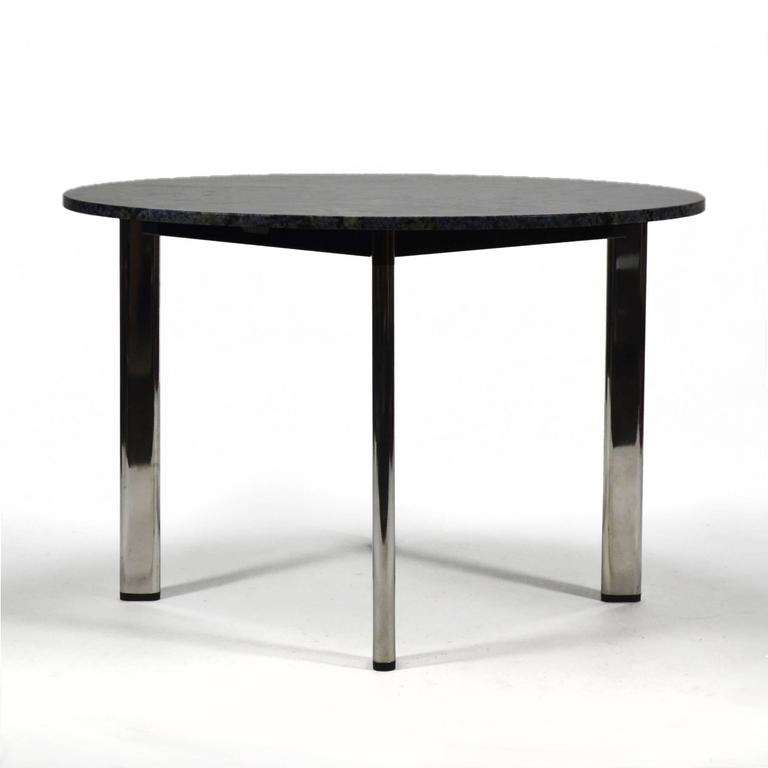 Plated Joe D'urso Table by Knoll For Sale