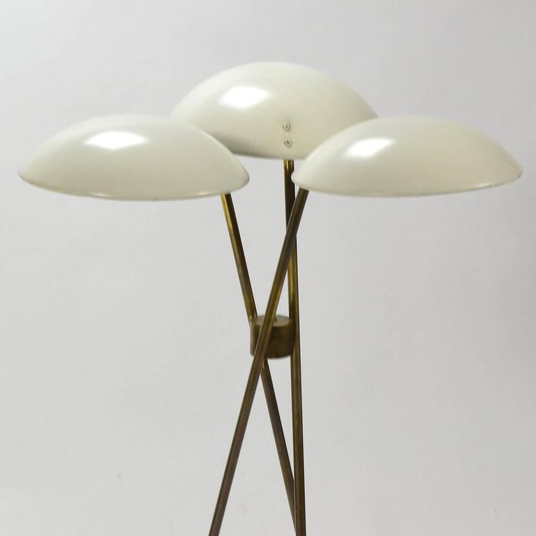 Gerald Thurston Tripod Floor Lamp by Lightolier 5