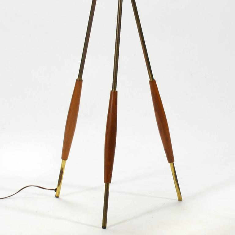 Gerald Thurston Tripod Floor Lamp by Lightolier 7