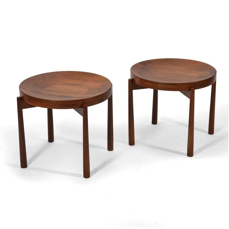 The internet is a miraculous thing, but one aspect of it is that incorrect information has a habit of taking root and refusing to go away. Such is the case for the Jens Quistgaard attribution often given these teak tables with reversible tops. We