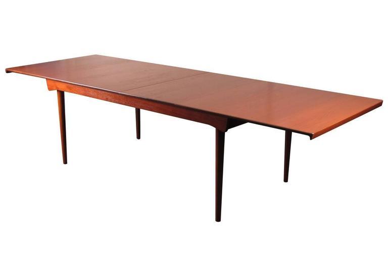 Finn Juhl Model 540 Solid Teak Extension Table 3