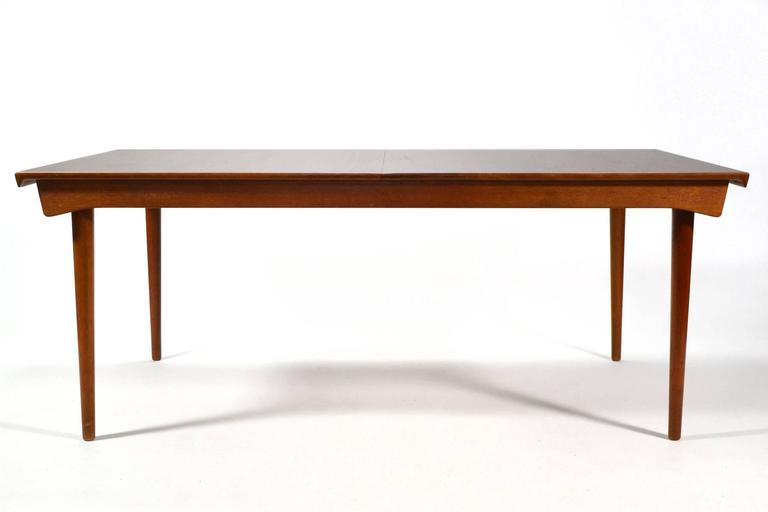 Finn Juhl Model 540 Solid Teak Extension Table 4
