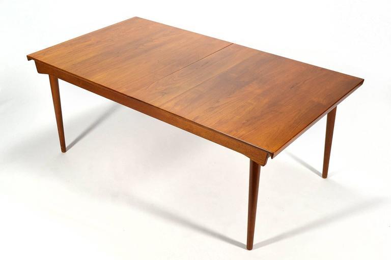 Finn Juhl Model 540 Solid Teak Extension Table 7