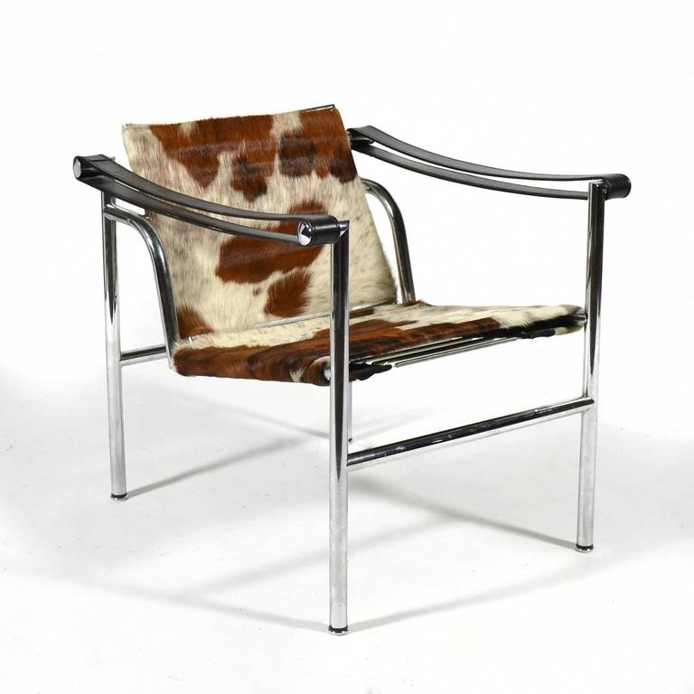 Le Corbusier LC1 Lounge Chairs by Cassina 3