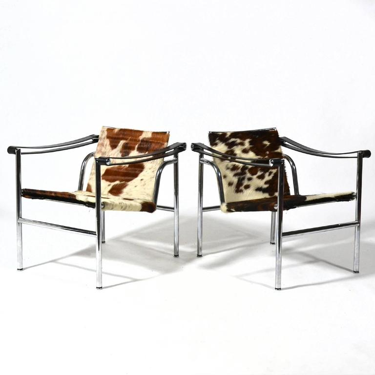 Le Corbusier LC1 Lounge Chairs by Cassina 5
