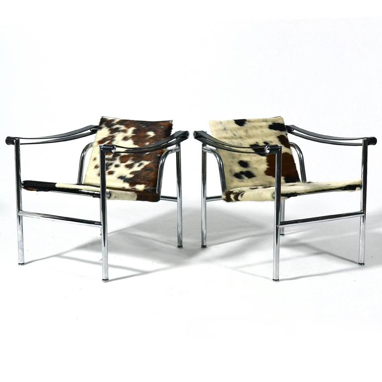 Le Corbusier LC1 Lounge Chairs by Cassina 6