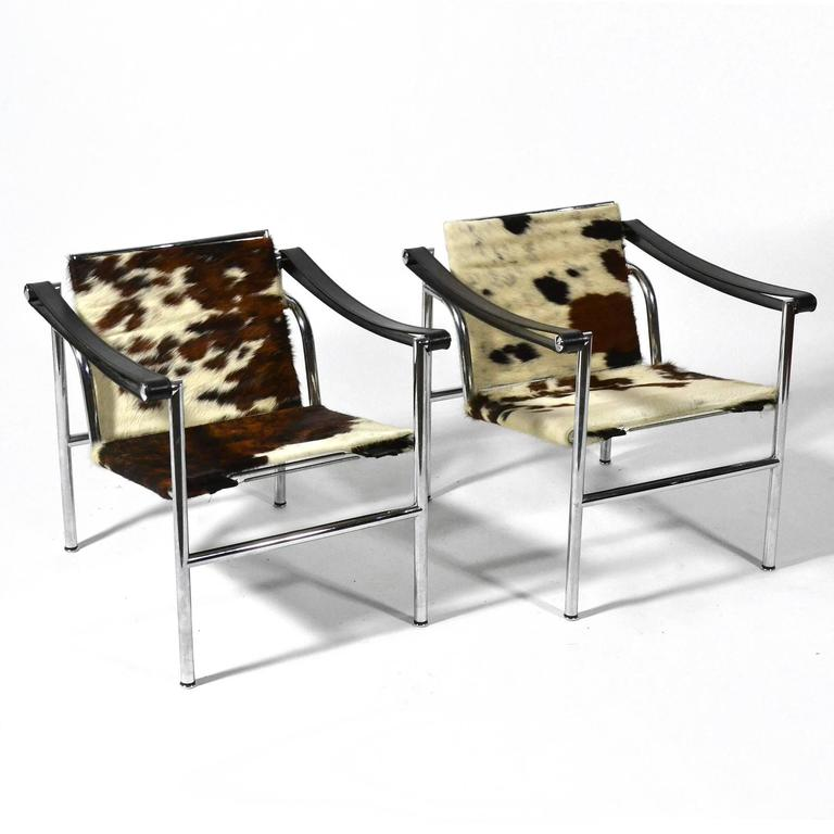 Le Corbusier LC1 Lounge Chairs by Cassina 7