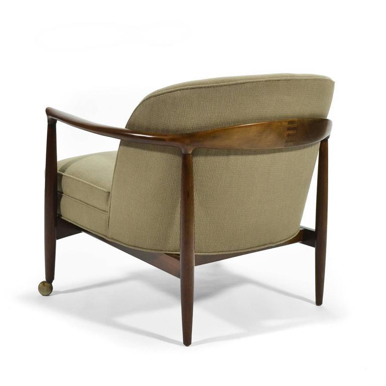 Ib Kofod-Larsen Barrel-Back Lounge Chairs 5