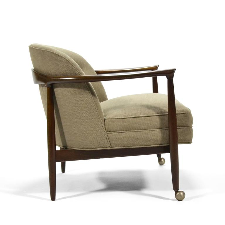 Ib Kofod-Larsen Barrel-Back Lounge Chairs 8