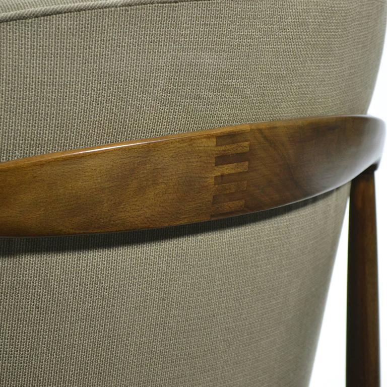 Ib Kofod-Larsen Barrel-Back Lounge Chairs 6