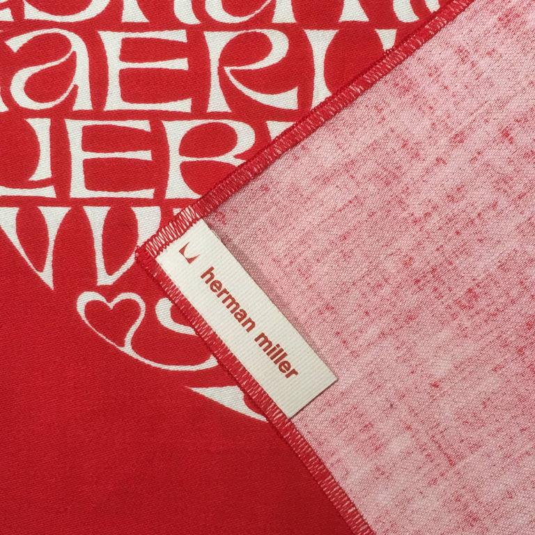 American Alexander Girard International Heart Textile For Sale