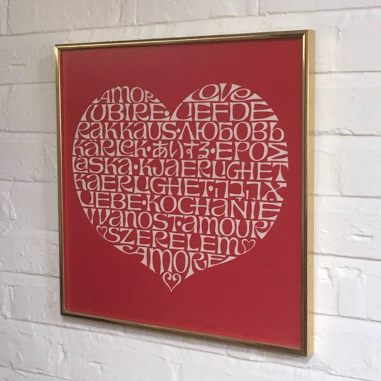 Alexander Girard International Heart Textile 7