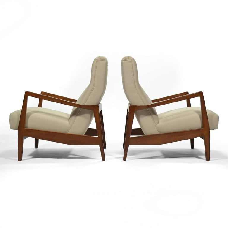 Jens Risom Pair of Lounge Chairs 2