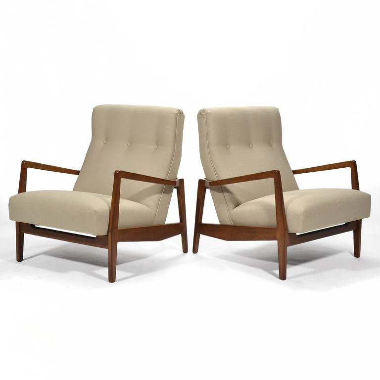 Jens Risom Pair of Lounge Chairs 3