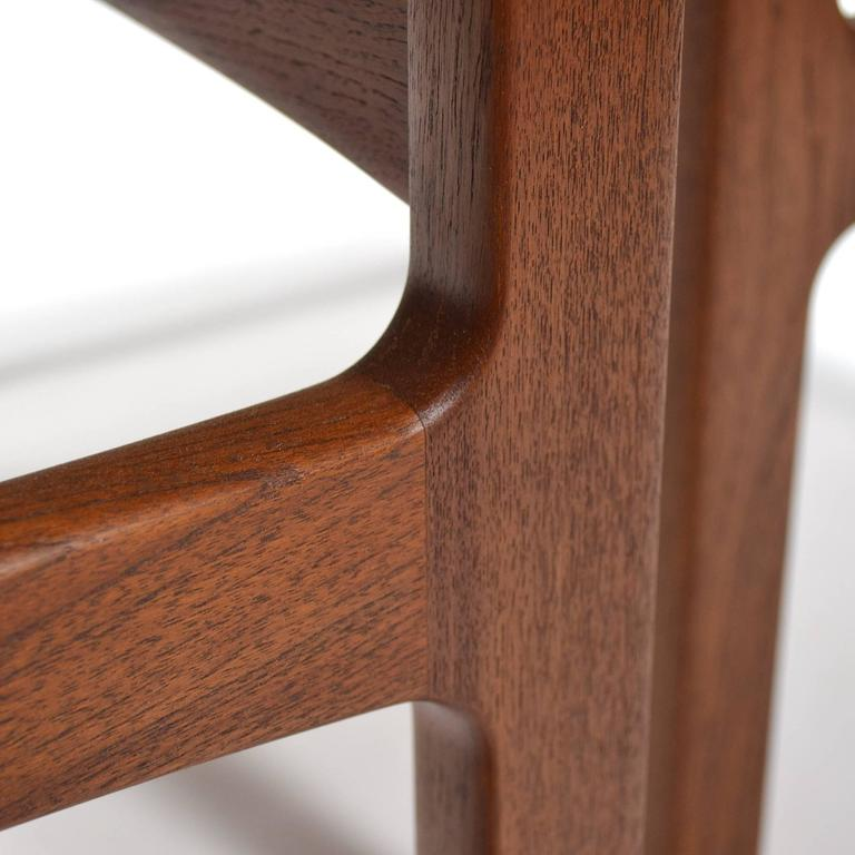 Tove & Edvard Klindt-Larsen Pair of Solid Teak Side or End Tables For Sale 3