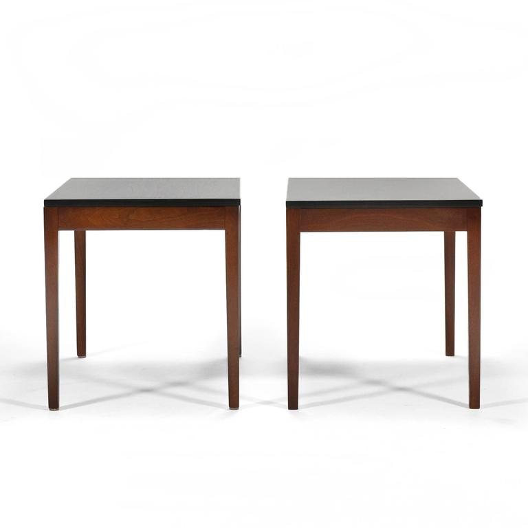George Nelson Pair of Side Tables by Herman Miller 3