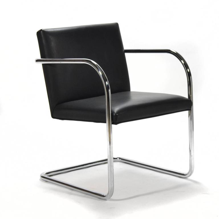 Mies Van Der Rohe Set of Six Brno Chairs 3