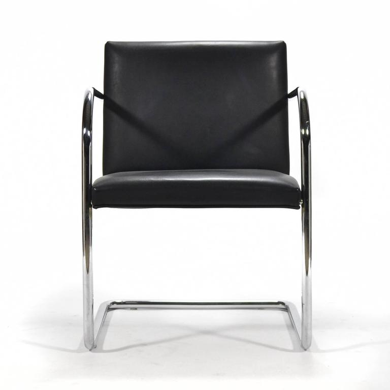 Mies Van Der Rohe Set of Six Brno Chairs 4