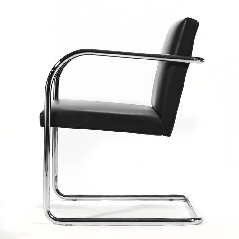 Mies Van Der Rohe Set of Six Brno Chairs 5