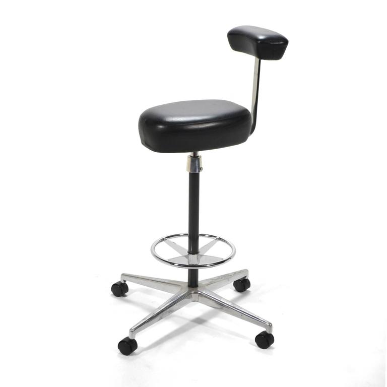 Aluminum George Nelson Perch by Herman Miller For Sale