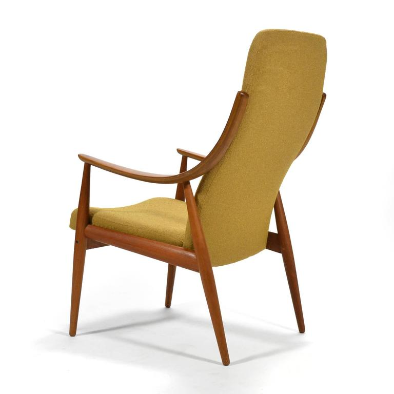 Mid-20th Century Peter Hvidt & Orla Mølgaard-Nielsen High Back Easy Chair For Sale