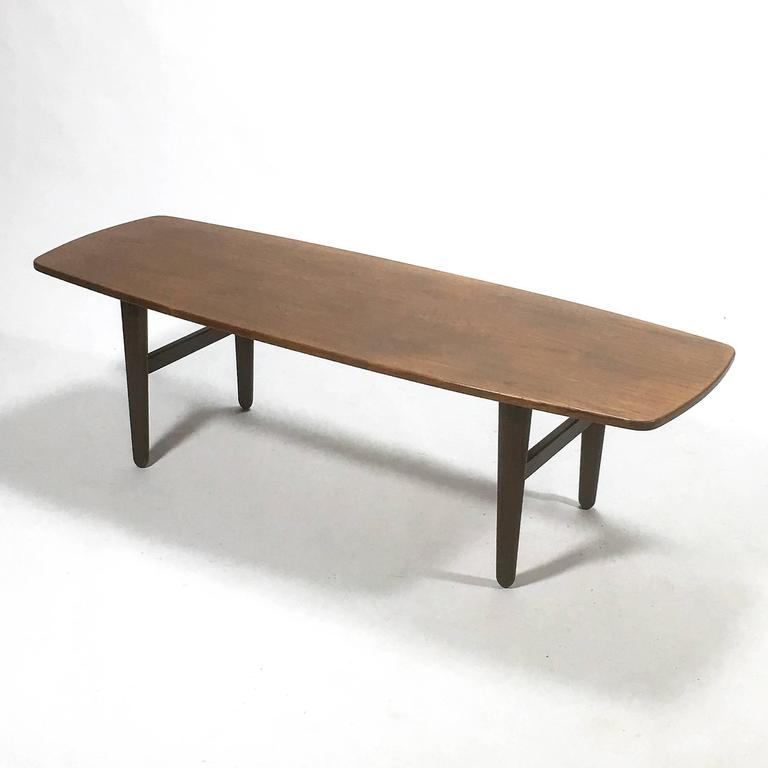 Svend Madsen Coffee Table by K. Knudsen For Sale 1