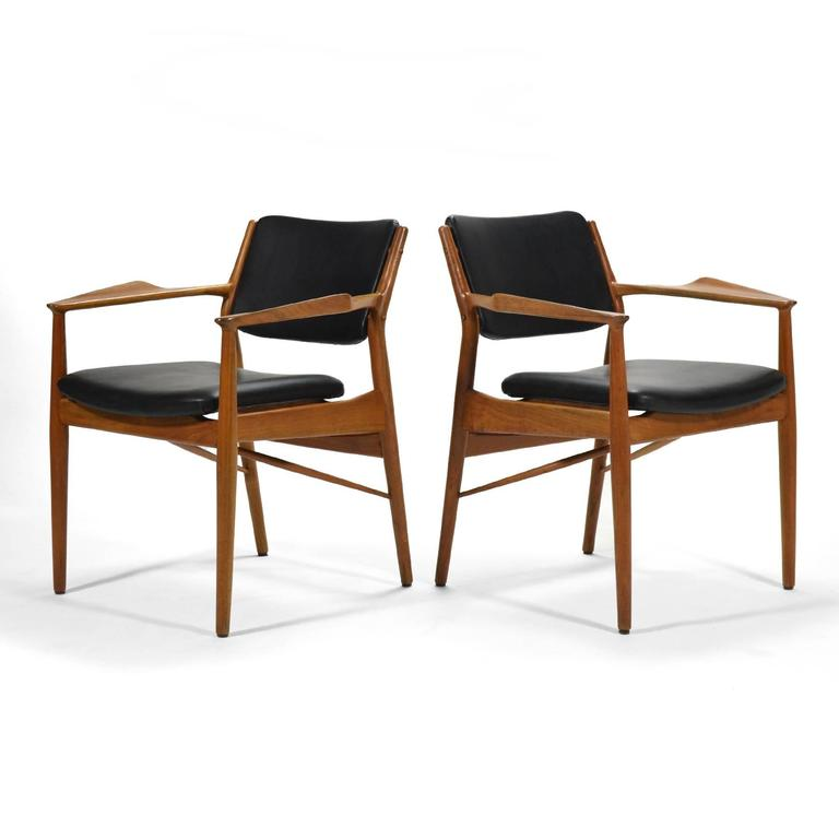 Arne Vodder Armchairs by Sibast In Good Condition For Sale In Highland, IN