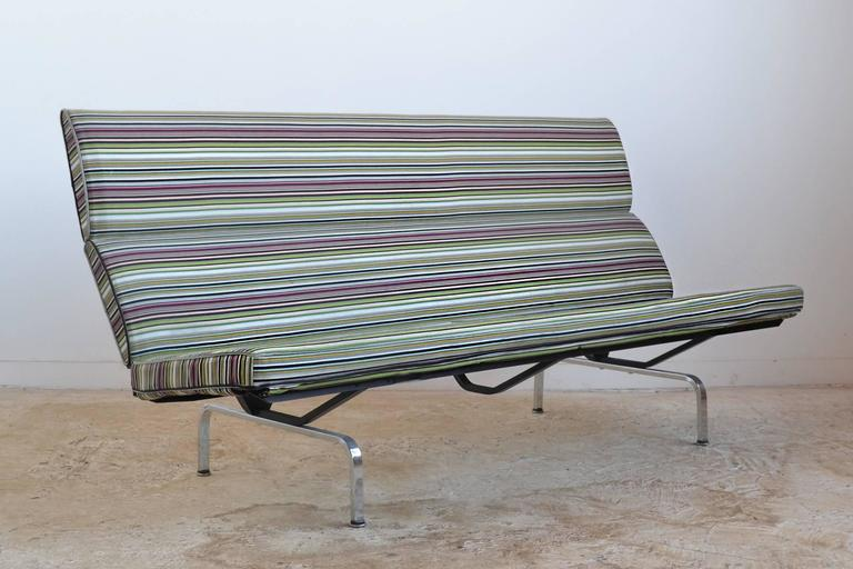 Eames Sofa Compact with Paul Smith Fabric by Herman Miller 2