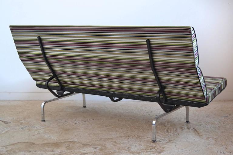 Eames Sofa Compact with Paul Smith Fabric by Herman Miller 6