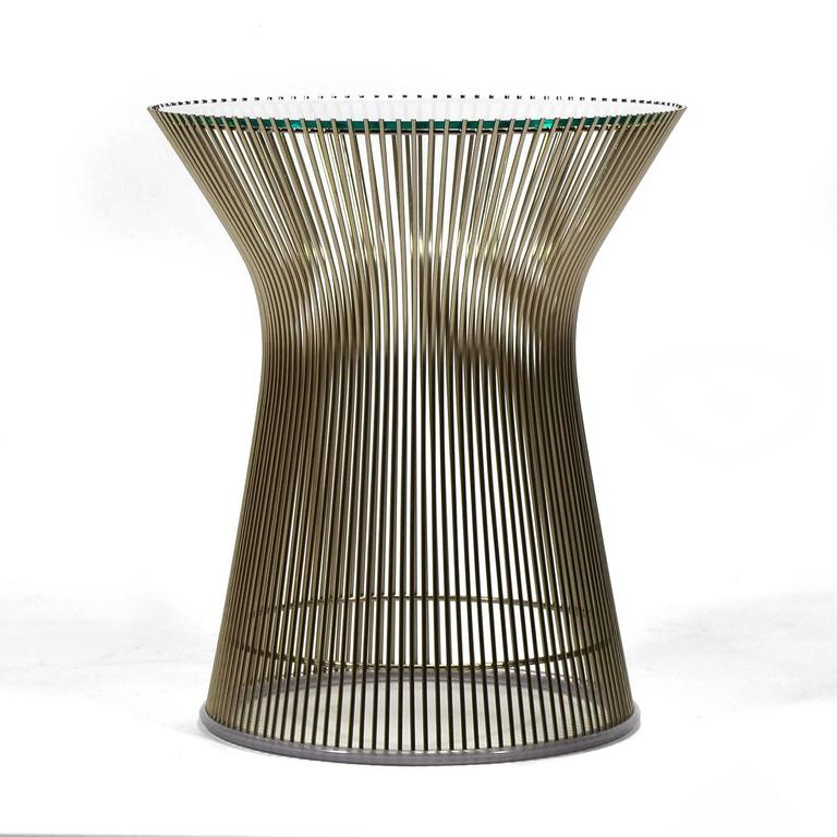 Warren Platner Side Table by Knoll 2