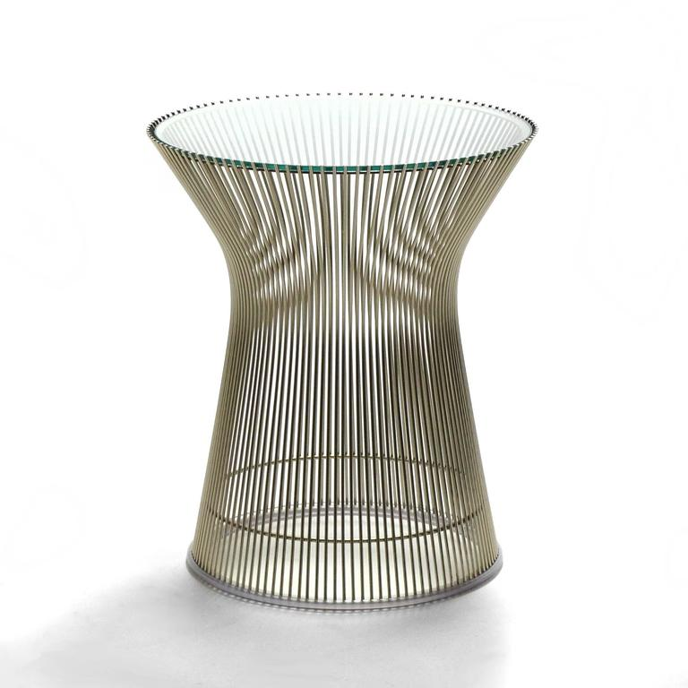 Warren Platner Side Table by Knoll 3