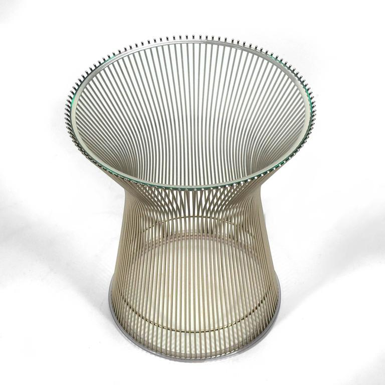 Warren Platner Side Table by Knoll 4