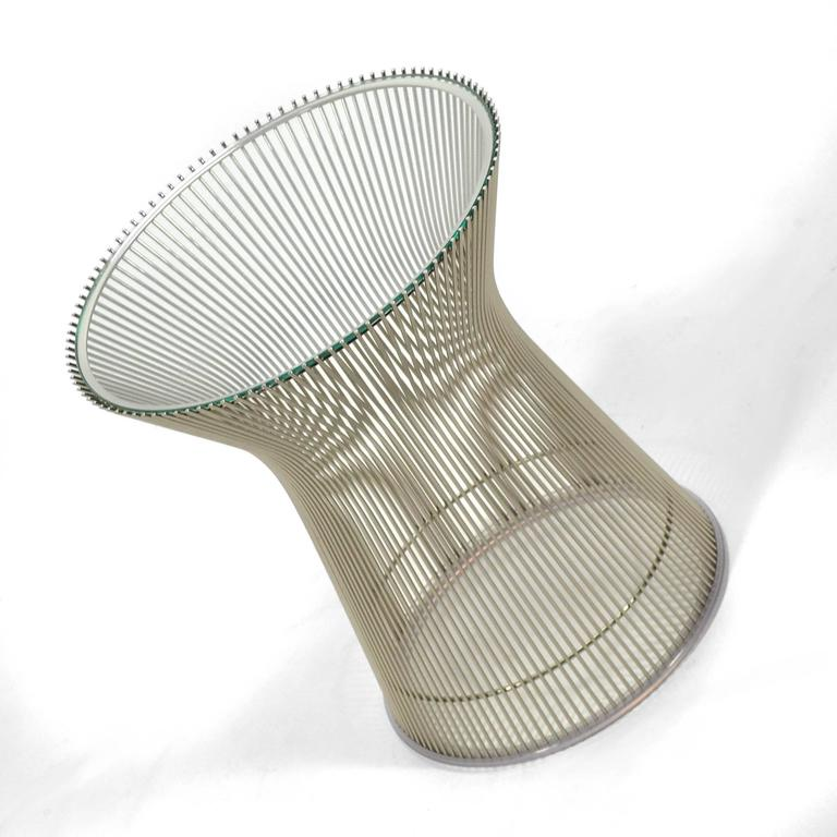 Warren Platner Side Table by Knoll 7