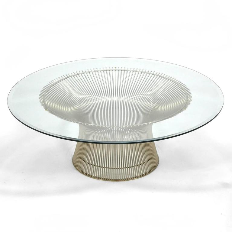 American Warren Platner Coffee Table by Knoll For Sale