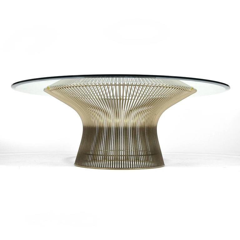 Warren Platner Coffee Table By Knoll For Sale At 1stdibs