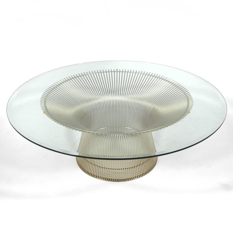 Warren Platner Coffee Table by Knoll For Sale 1