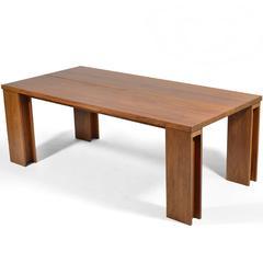 """De La Espada """"Long"""" Table in Black Walnut"""
