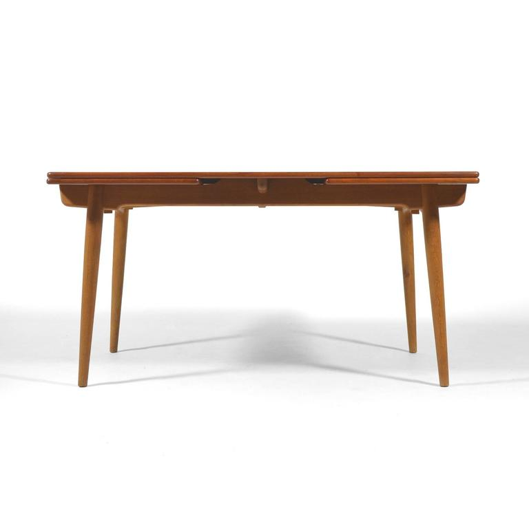 Hans Wegner AT312 Draw-Leaf Dining Table by Andreas Tuck 3