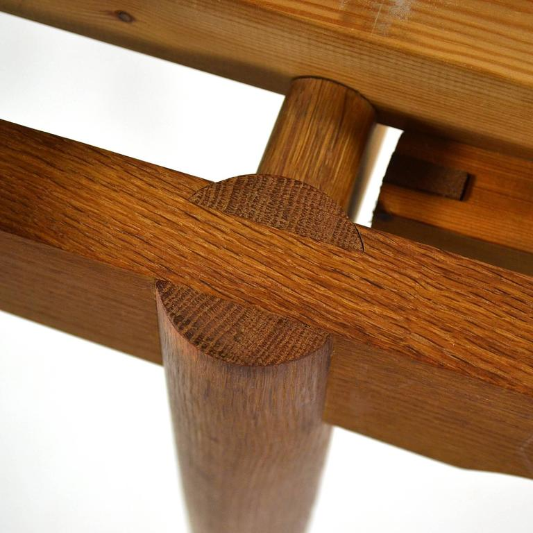 Hans Wegner AT312 Draw-Leaf Dining Table by Andreas Tuck 9