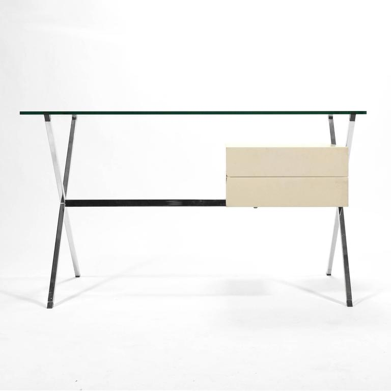 Mid-Century Modern Franco Albini Desk by Knoll For Sale